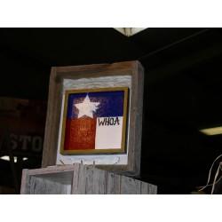 Texas Flagg mit alten...