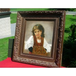 Porträt eines Biedermeier...