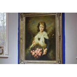 Porträt  Blumenmädchen...
