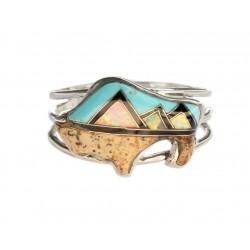 Zuni Ring Bufallo native