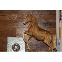 Pferd Holz geschnitzt mega...
